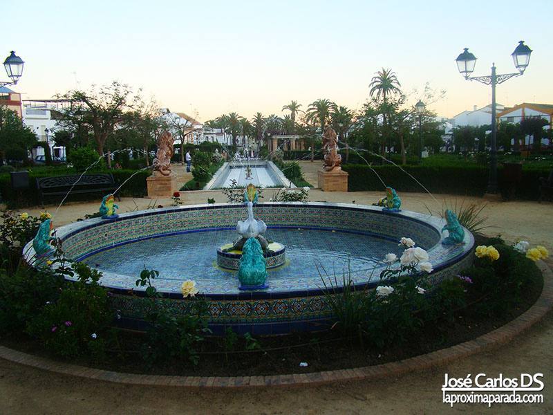 Parque Francisco Ramos Mantis Bollullos Huelva