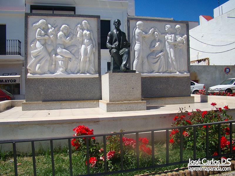 Escultura Juan Ramon Jiménez Moguer