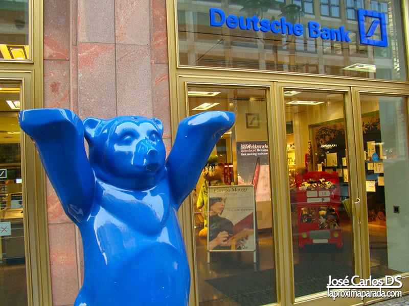 Osos Buddy Azul Bank Berlin