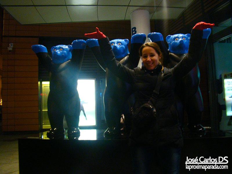Osos Buddy Blue Man Group Berlín