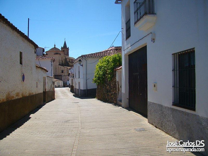 Calles de Linares de la Sierra