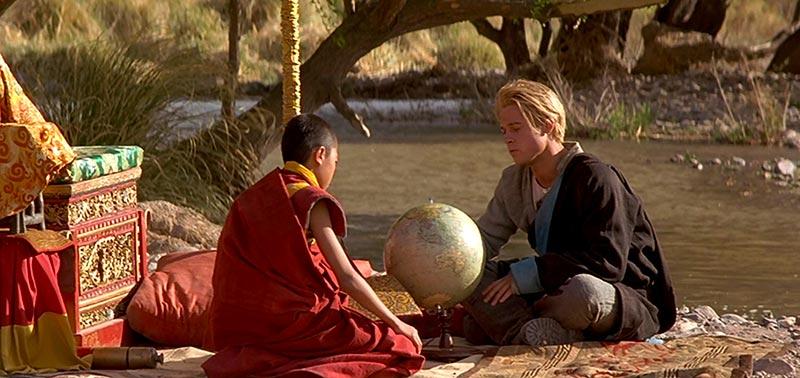 Heinrich Harrer con Dalai Lama Tibet