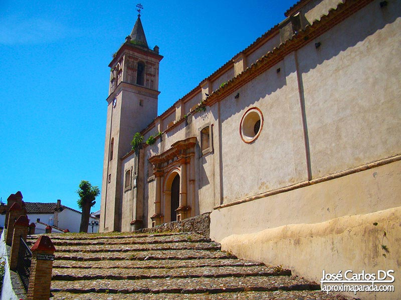 Iglesia San Juan Bautista Linares de la Sierra