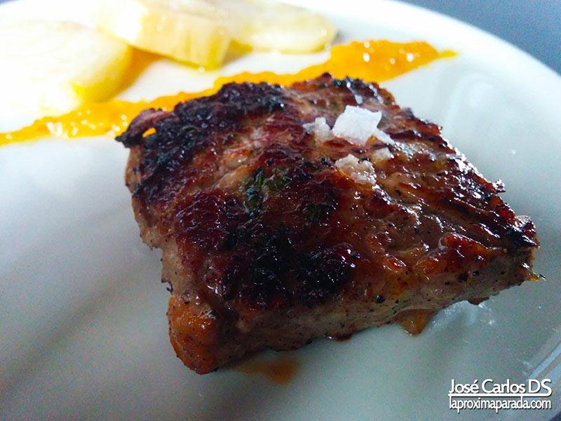 Solomillo de Ibérico asado Restaurante Arrieros