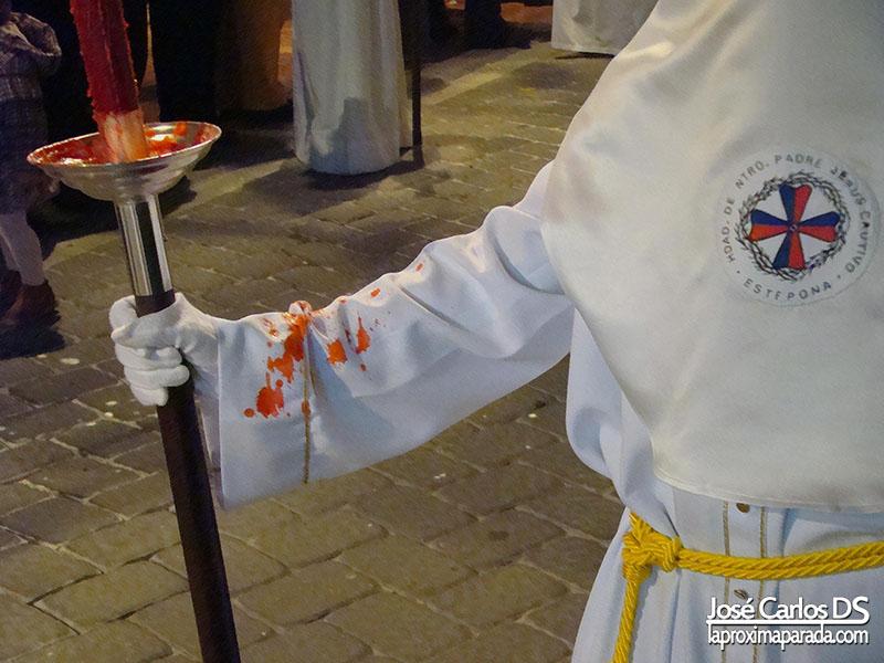 Velas Nazarenos Miércoles Santo, Estepona