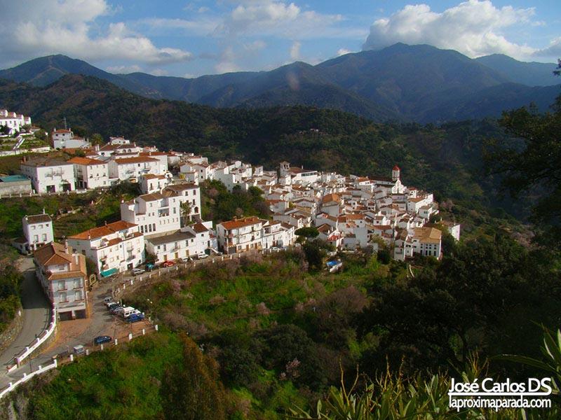 Panorámica Genalguacil - Málaga