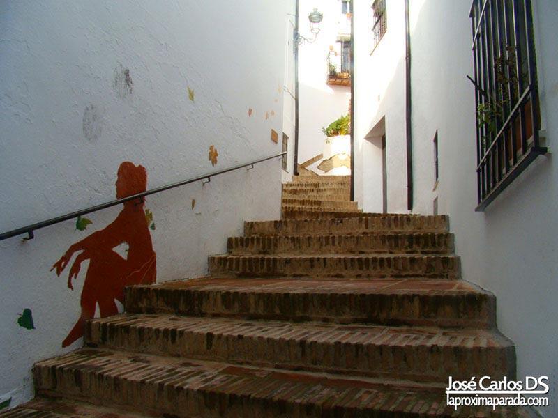 Escaleras pueblo de Genalguacil