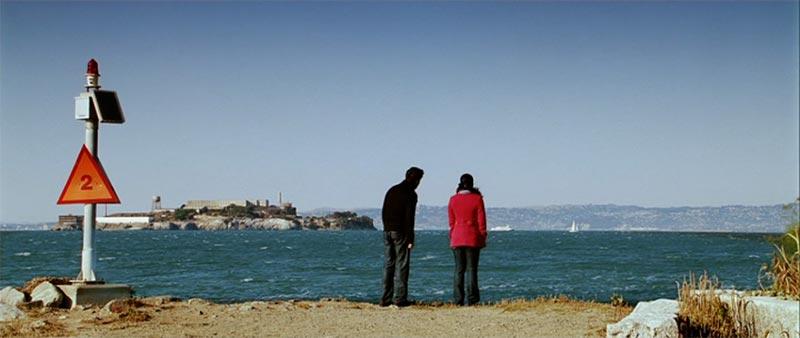 Isla de Alcatraz en Mi nombre es Khan