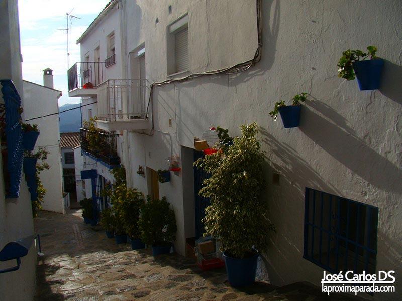 Pueblo andaluz de Genalguacil, Málaga