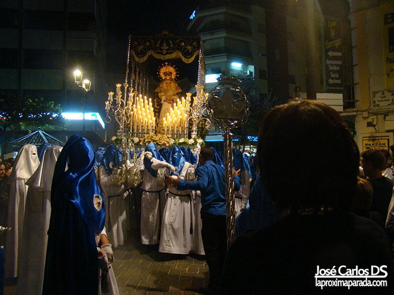 María Santísima de la Salud Miércoles Santo Estepona