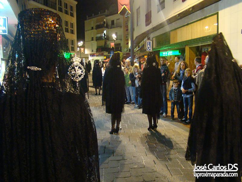 Mujeres de Mantilla Procesión Estepona
