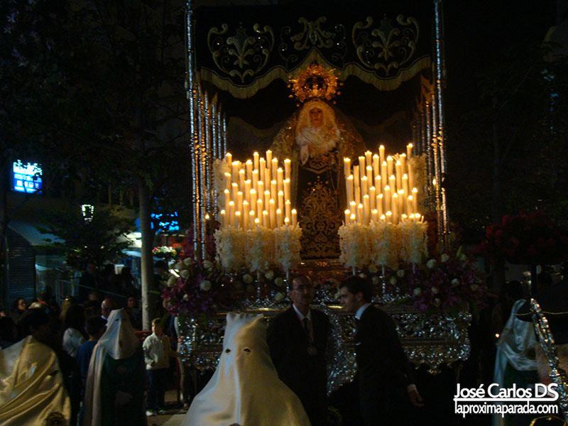 Nuestra Señora de la Esperanza Jueves Santo Estepona