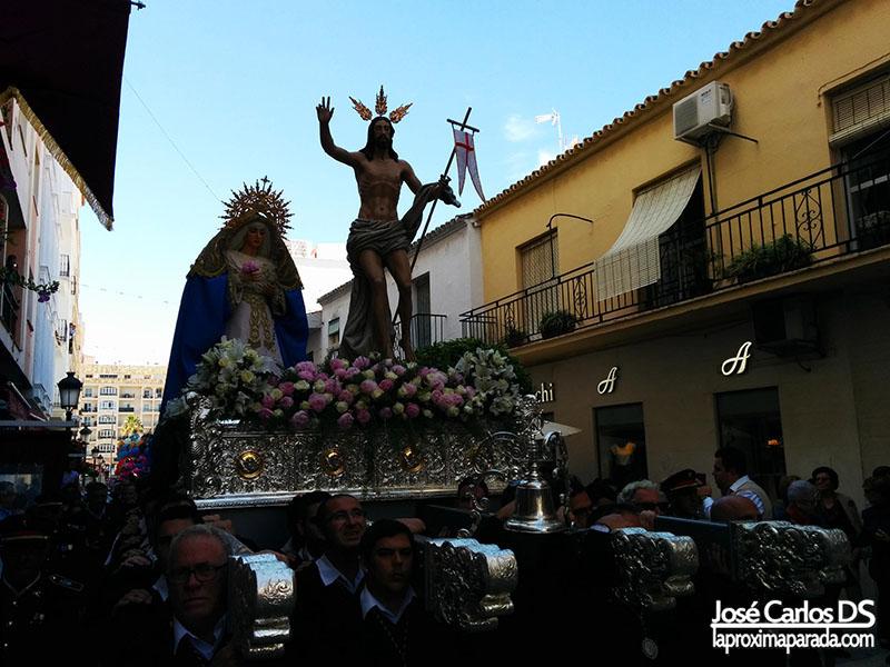 Procesión Domingo de Resurrección en Estepona