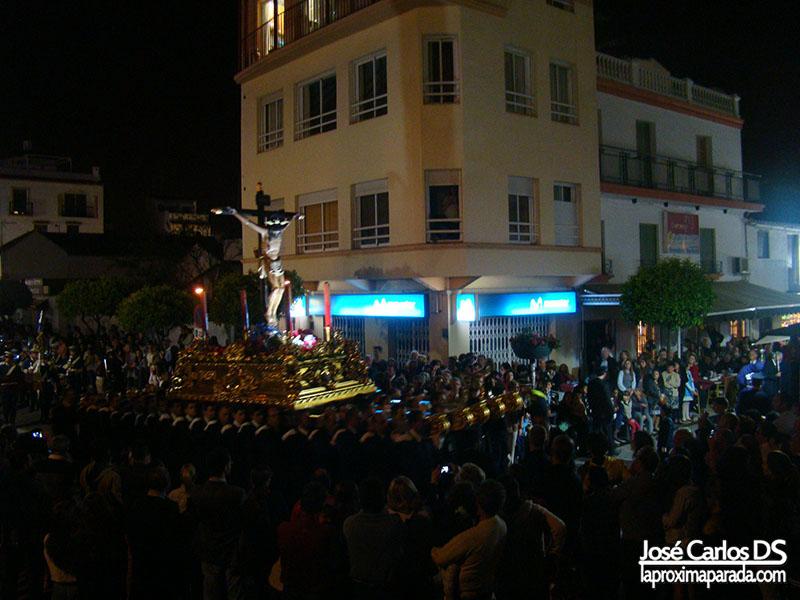 Procesión del Cristo de la Veracruz Estepona