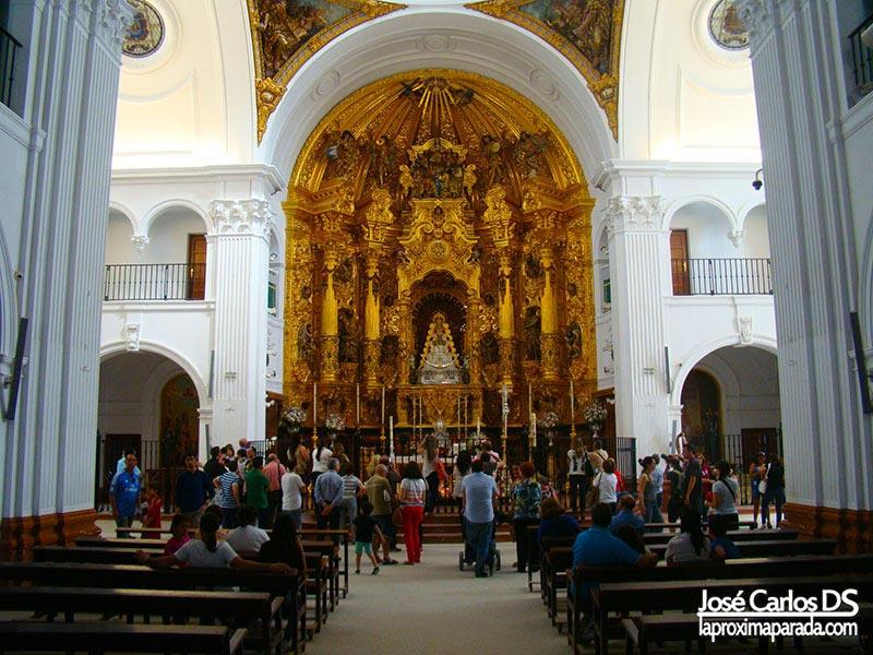 Imagen Virgen del Rocío Almonte