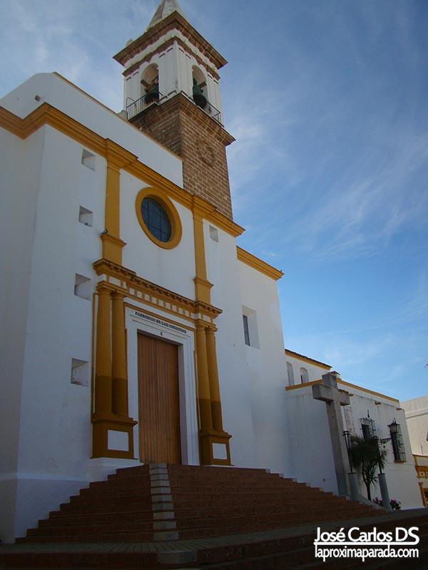 Iglesia de las Angustias en Ayamonte