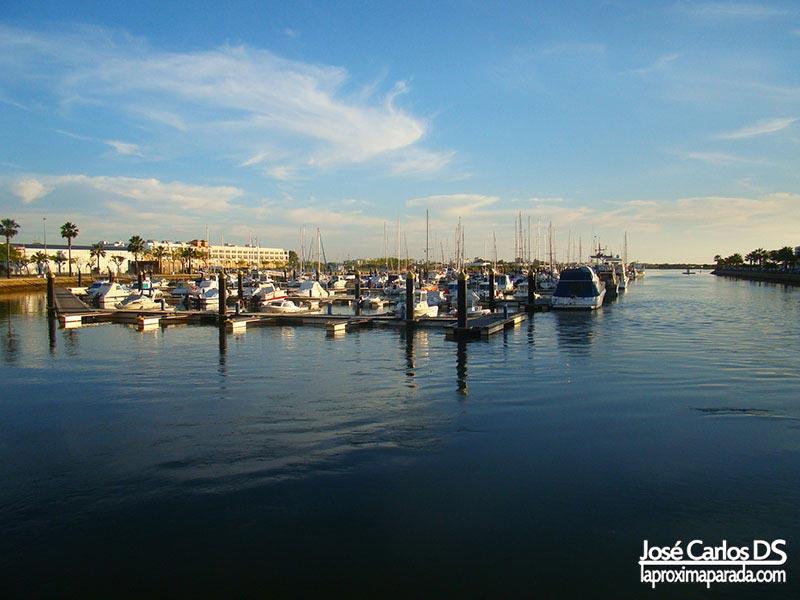 Puerto de Ayamonte den Huelva