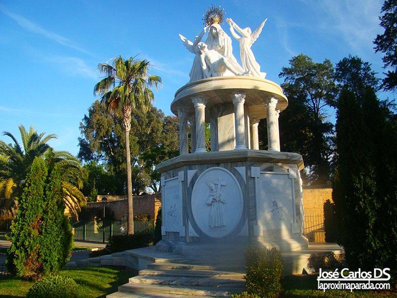 Virgen de las Angustias en Ayamonte