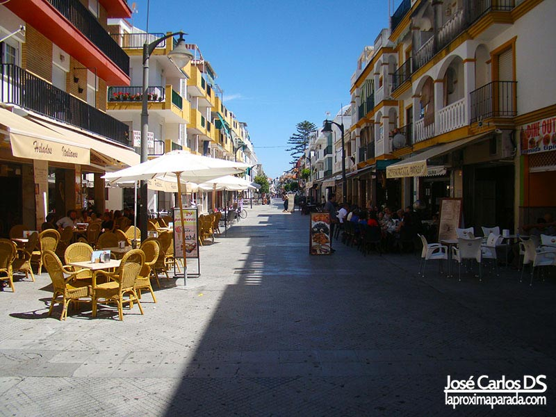 Calle Ancha en Punta Umbria
