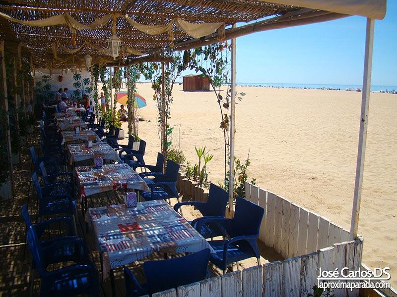 Chiringuitos en Playas de Punta Umbría