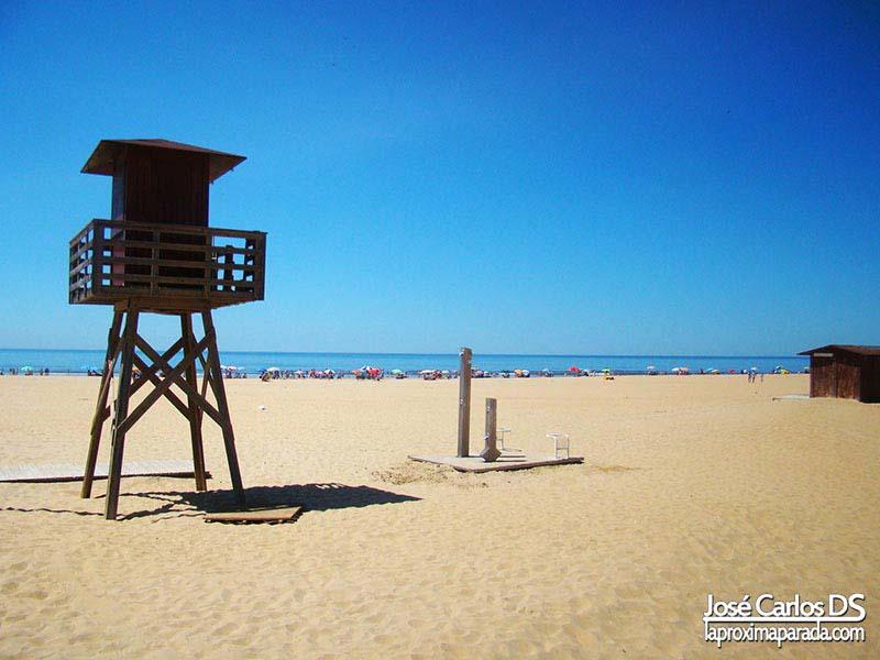 Litoral costero de Punta Umbria