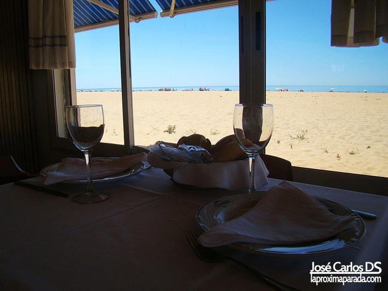 Restaurante Miramar en Punta Umbria