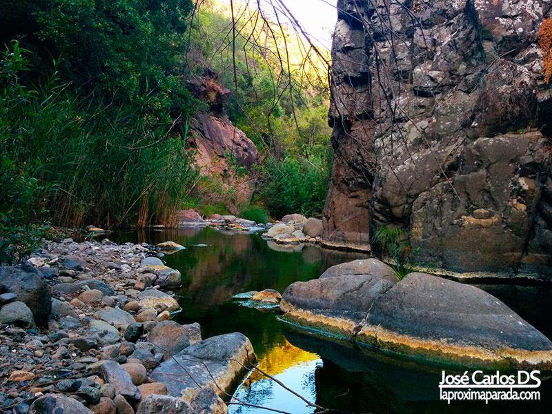 Cahorros río Padrón Estepona