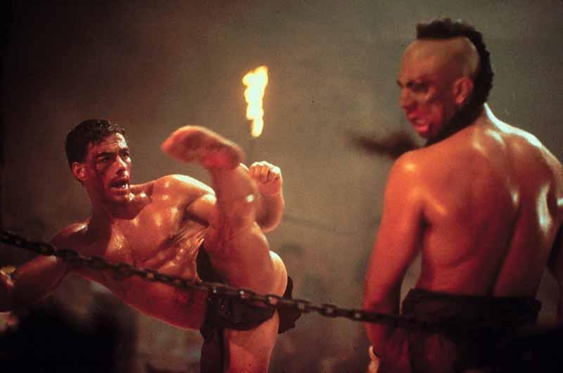 Kickboxer Pelea Final