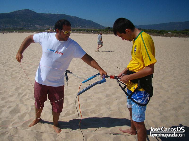 Seguridad practicar Kitesurf en Tarifa