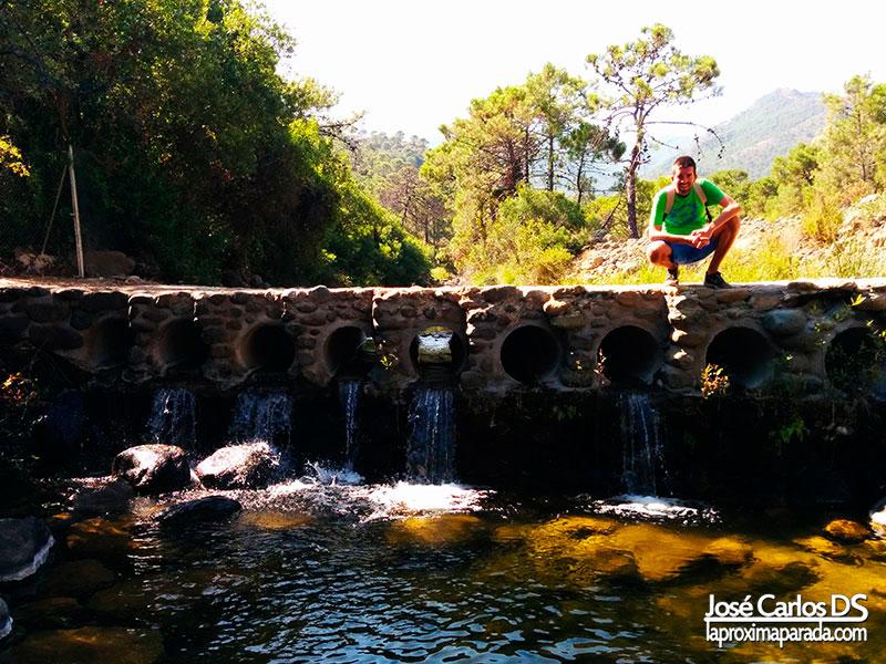 Puente sobre río Padrón de Estepona