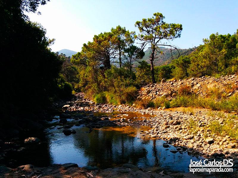 Senderismo Río Padrón de Estepona