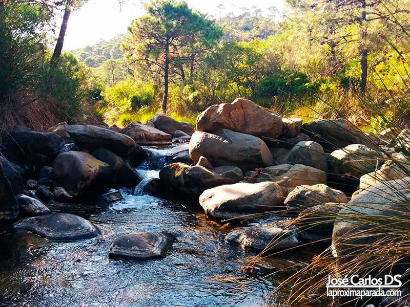 Rocas Río Padrón de Estepona