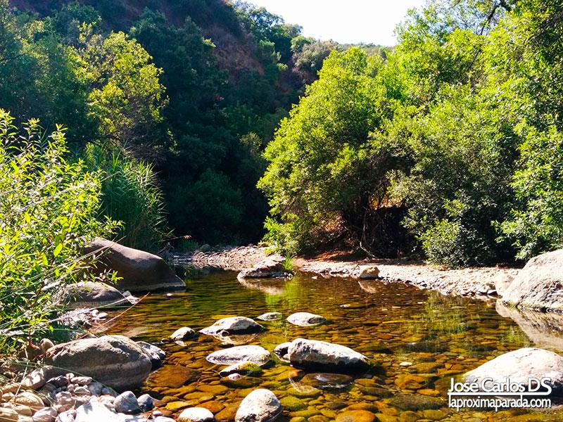 Inicio Sendero Río Padrón de Estepona