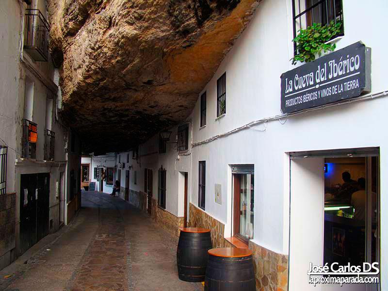 Calle Típica Setenil de las Bodegas, Cádiz