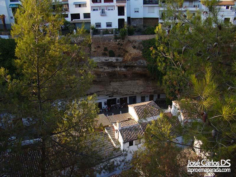 Casas Cueva Setenil de las Bodegas Cádiz