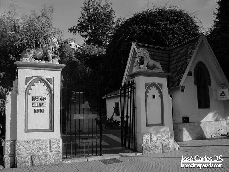 Entrada Cementerio Inglés de Málaga