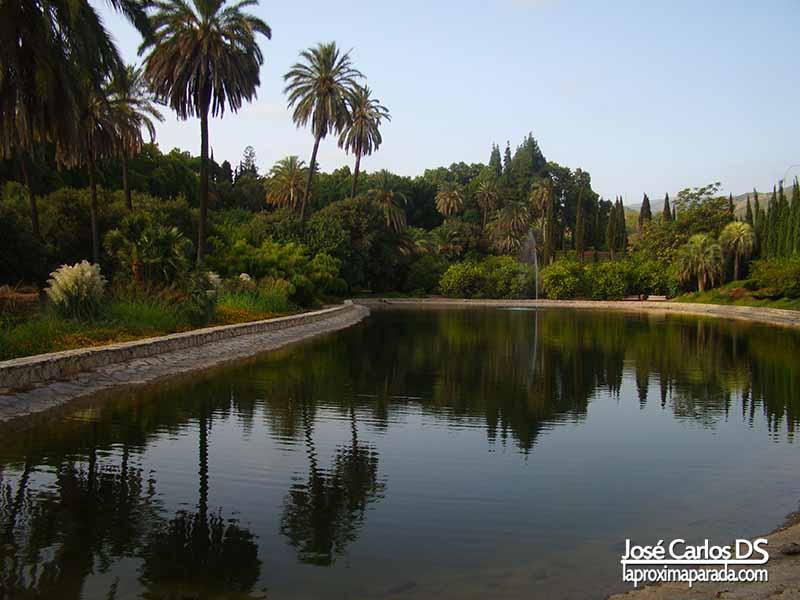 Laguna Jardín Botánico de Málaga