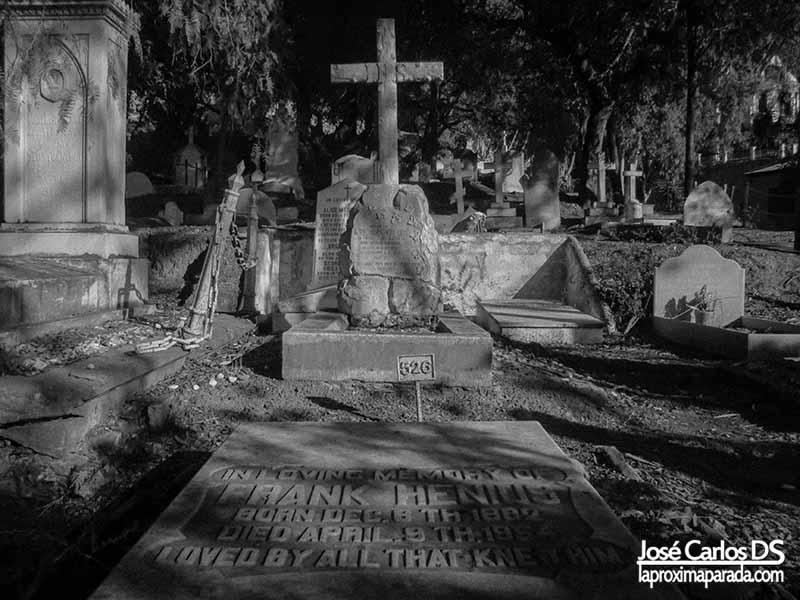 Cementerio San Jorge en Málaga