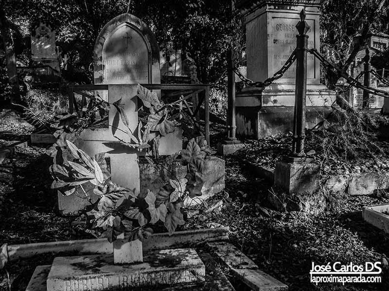 Lápida Cementerio Inglés de Málaga
