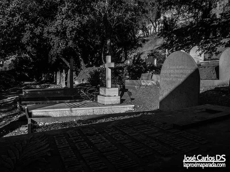 Lápidas Cementerio Inglés de Málaga