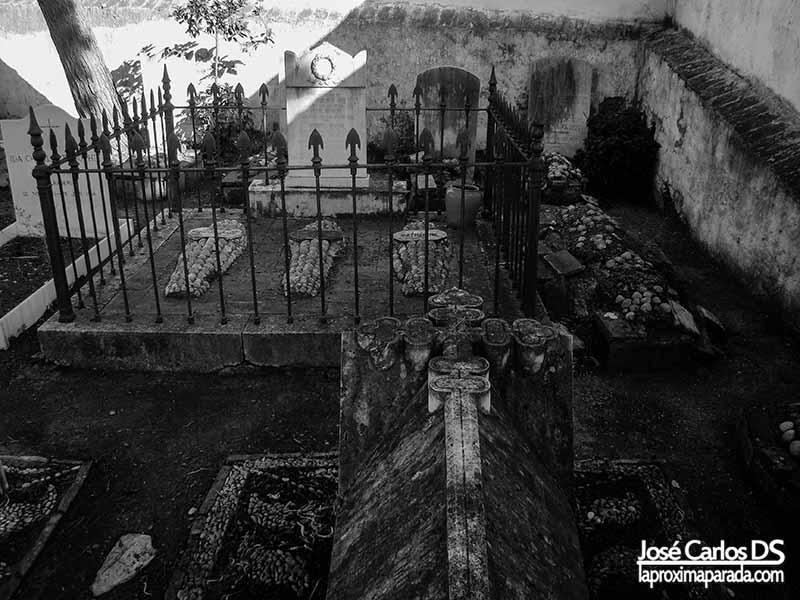 Núcleo primitivo Cementerio Inglés de Málaga