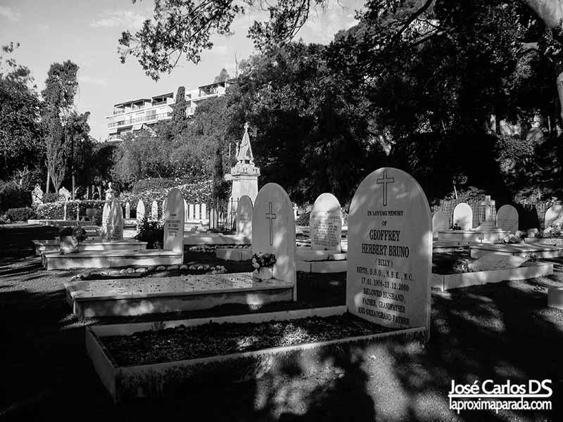 Tumbas Cementerio Inglés de Málaga
