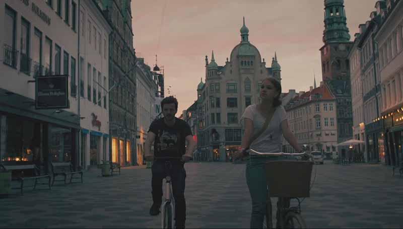 William& Effy Recorriendo Copenhague