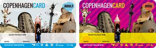 Copenhagen Card Tarjeta Turistica