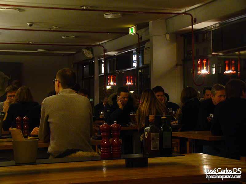 Interior Restaurante BioMio - Copenhague