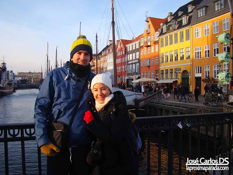 Canales de Copenhague Nyhavn