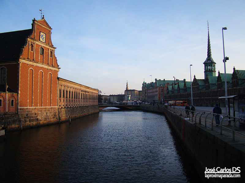 Antiguo edificio Bolsa Copenhague