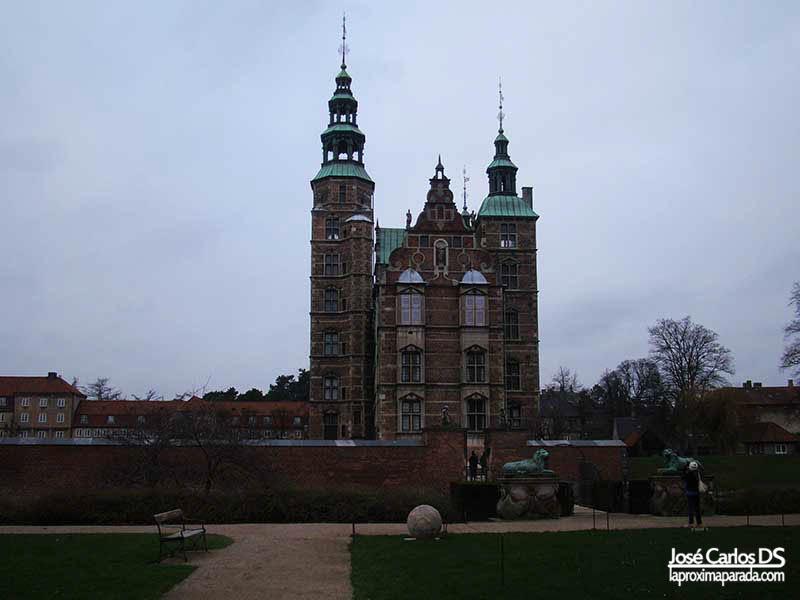 Castillo palacio de Rosenborg Copenhague
