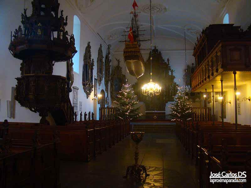 Iglesia de Holmen Copenhague