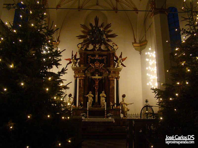 Iglesia de la Trinidad Torre Redonda Rundetarn Copenhague